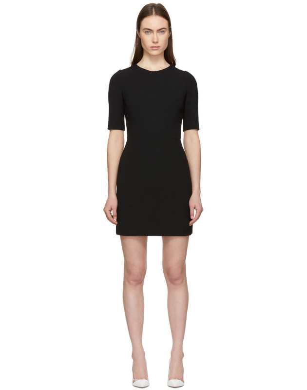 photo Black Fitted Dress by Dolce and Gabbana - Image 1