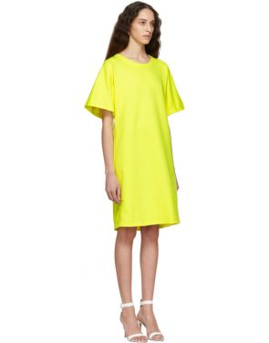 photo Yellow T-Shirt Dress by A-Plan-Application - Image 2
