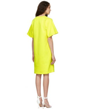 photo Yellow T-Shirt Dress by A-Plan-Application - Image 3