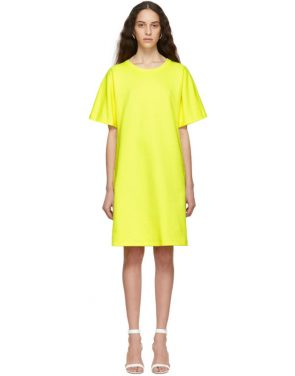 photo Yellow T-Shirt Dress by A-Plan-Application - Image 1