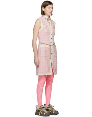 photo Pink Tweed Dress by Gucci - Image 2