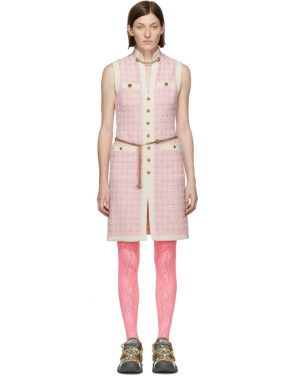 photo Pink Tweed Dress by Gucci - Image 1