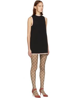 photo Black Tunic Dress by Gucci - Image 2