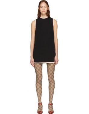 photo Black Tunic Dress by Gucci - Image 1