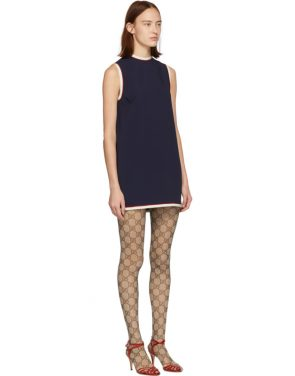 photo Navy Tunic Dress by Gucci - Image 2