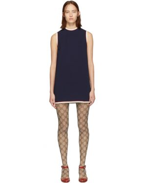photo Navy Tunic Dress by Gucci - Image 1