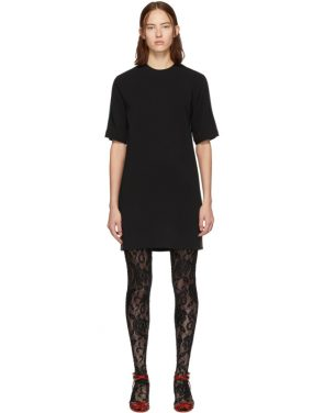 photo Black Web Tunic Dress by Gucci - Image 1