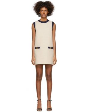photo Off-White Tweed Dress by Gucci - Image 1