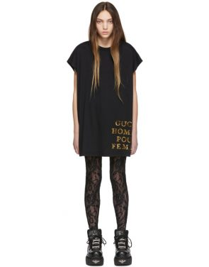 photo Black Sequin Homme Pour Femme T-Shirt by Gucci - Image 1