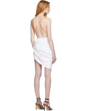 photo White La Robe Saudade Dress by Jacquemus - Image 3