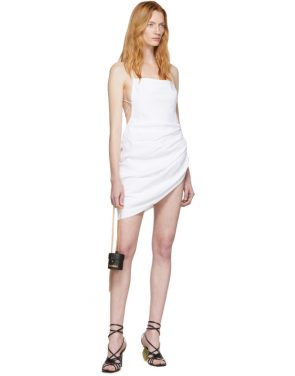 photo White La Robe Saudade Dress by Jacquemus - Image 5
