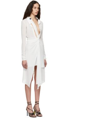 photo White La Robe Bellagio Dress by Jacquemus - Image 2