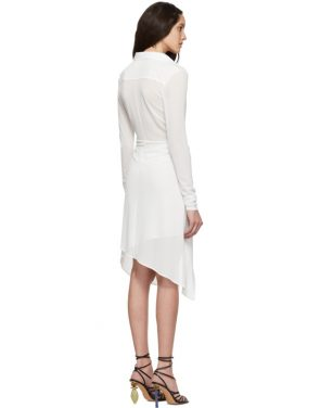 photo White La Robe Bellagio Dress by Jacquemus - Image 3