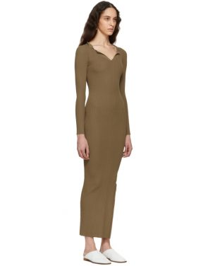 photo Brown Arezzo Dress by Toteme - Image 2
