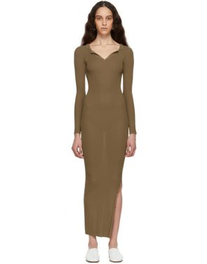 photo Brown Arezzo Dress by Toteme - Image 1