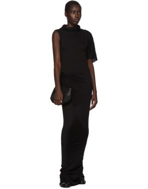 photo Black Turtleneck Gown Dress by Rick Owens Lilies - Image 5