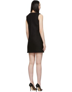 photo Black Sleeveless Shift Dress by RED Valentino - Image 3