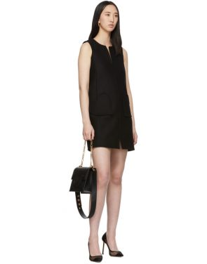 photo Black Sleeveless Shift Dress by RED Valentino - Image 5