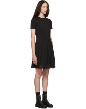photo Black Pleated Dress by RED Valentino - Image 2