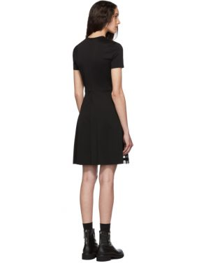 photo Black Pleated Dress by RED Valentino - Image 3