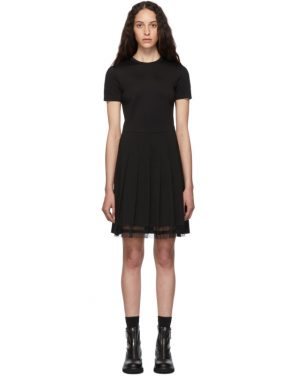 photo Black Pleated Dress by RED Valentino - Image 1