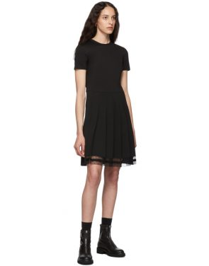 photo Black Pleated Dress by RED Valentino - Image 5