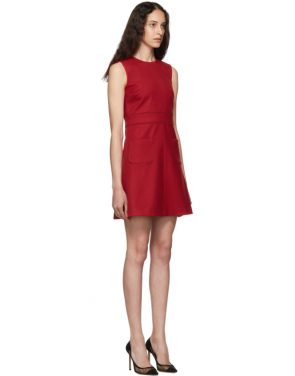 photo Red Scallop Ribbon Detail Dress by RED Valentino - Image 2