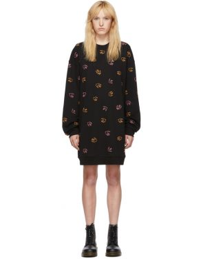 photo Black Embroidered Swallow Dress by McQ Alexander McQueen - Image 1