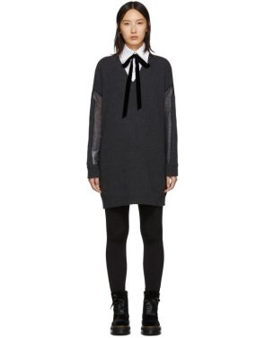 photo Grey Tunic Dress by McQ Alexander McQueen - Image 1