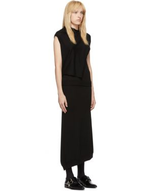 photo Black Askance Dress by McQ Alexander McQueen - Image 2