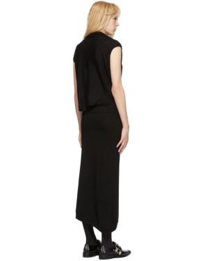 photo Black Askance Dress by McQ Alexander McQueen - Image 3