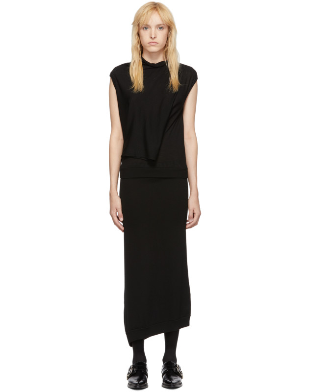 photo Black Askance Dress by McQ Alexander McQueen - Image 1