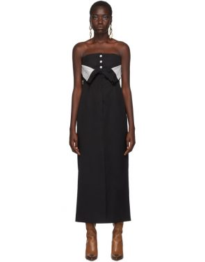 photo Black Dagila Tuxedo Dress by Acne Studios - Image 1