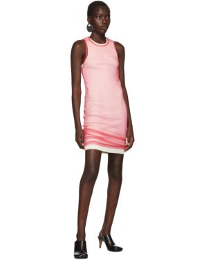 photo Pink Masc Tank Dress by Helmut Lang - Image 5