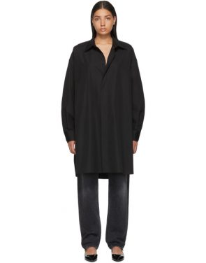 photo Black Shirt Dress by Maison Margiela - Image 1