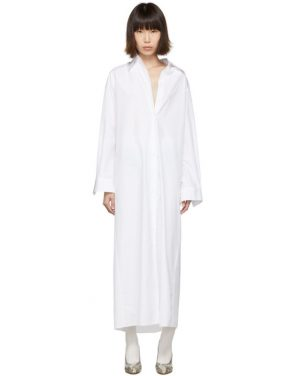 photo White Long Shirt Dress by Maison Margiela - Image 1