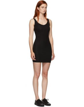photo Black Rhea Chemise Dress by Skin - Image 2