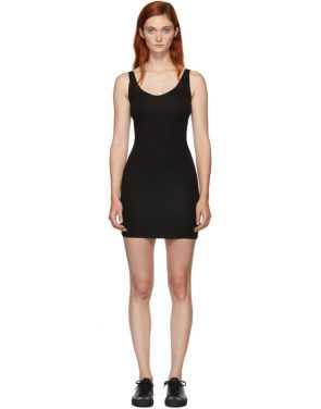 photo Black Rhea Chemise Dress by Skin - Image 1