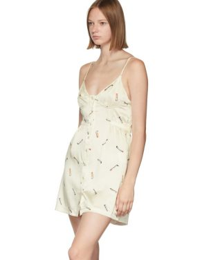 photo Off-White Vintage Bra Dress by Alexander Wang - Image 4