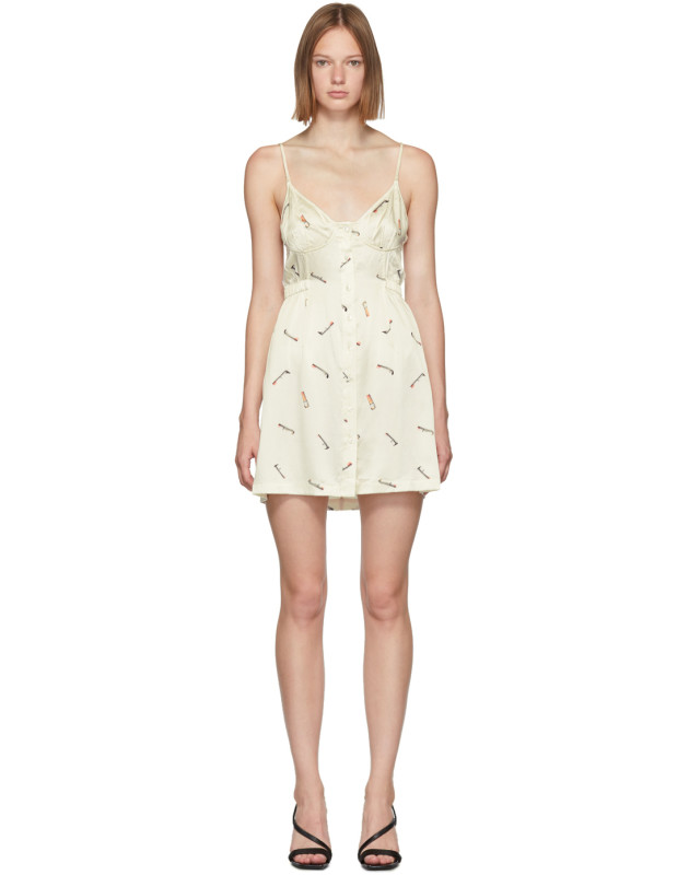 photo Off-White Vintage Bra Dress by Alexander Wang - Image 1