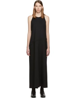 photo Black Convertible Tank Dress by MM6 Maison Margiela - Image 1