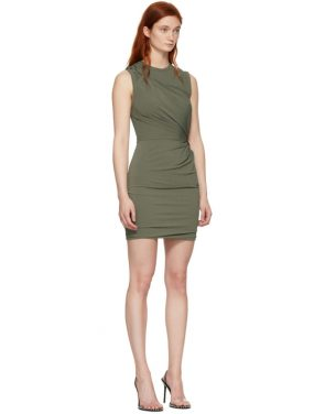 photo Khaki Twisted Minidress by alexanderwang.t - Image 2