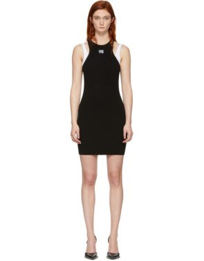 photo Black Foundation Bodycon Dress by alexanderwang.t - Image 1