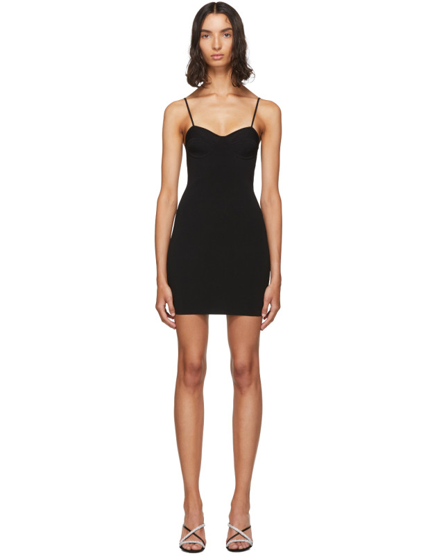 photo Black Bra Cup Dress by alexanderwang.t - Image 1