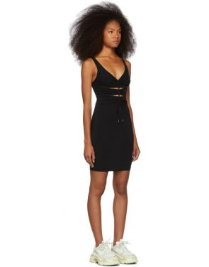 photo Black Crepe Jersey Dress by alexanderwang.t - Image 2