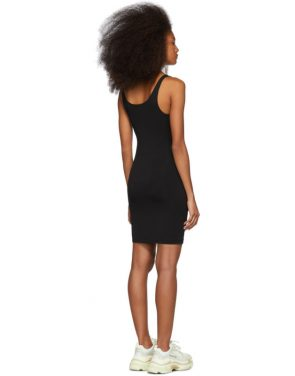 photo Black Crepe Jersey Dress by alexanderwang.t - Image 3