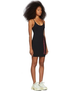 photo Black Swim Jersey Dress by alexanderwang.t - Image 2