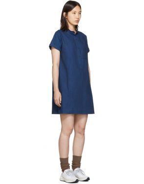 photo Indigo Temple Dress by A.P.C. - Image 2