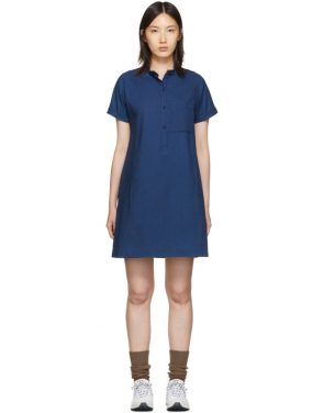 photo Indigo Temple Dress by A.P.C. - Image 1