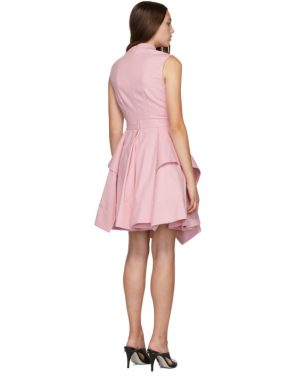 photo Pink Ruffle Dress by Alexander McQueen - Image 3